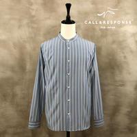 マルチストライプバンドカラーシャツ CALL&RESPONSE 201-1211-03