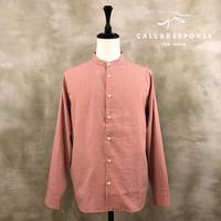 シアサッカーバンドカラーシャツ CALL&RESPONSE 201-1211-04