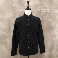 マキシマムストレッチシャツ/ ブラック / 201-1211-01