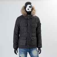 【シンサレートで薄いのに暖かい】高機能中綿ツイードマウンテンジャケット/CALL&RESPONSE  /  162-1103-16