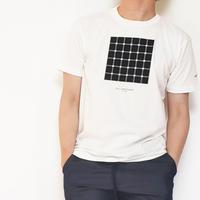 錯覚BOXプリントTEE/ ホワイト /201-1324-20