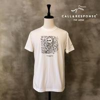 アートゴッホ発泡プリントTEE CALL&RESPONSE 201-1324-17