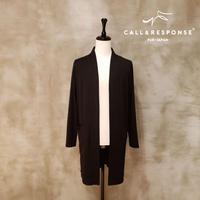 ノーカラーカットロングカーディガン CALL&RESPONSE 192-1329-05