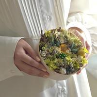 【Calonの花畑フラワーBox】グリーン系