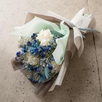 【瑠璃 ~Ruri~】 ドライフラワーの花束