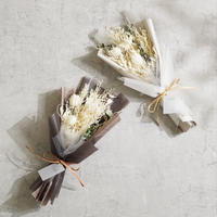 【ポピーホワイト】 白の花束