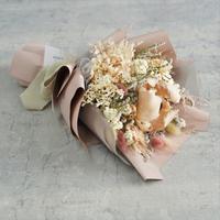 【パームピンク】 ニュアンスピンクの花束
