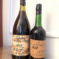 御購入ご注意下さい‼️15cc詰替商品。アドリアンカミュ 1929ヴィンテージ。1980年代瓶詰。(左側のボトルです。)