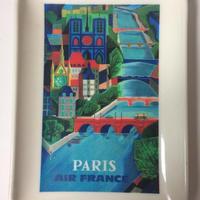 1960年代 エールフランス ヴィッドポッシュ 小物トレイ パリ