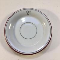 19世紀中期 ビストロ用 アプサン用 ソーサー お釣り銭皿 ボルドー