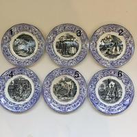 19世紀 ショワジー・ル・ロワ H・ブーランジェ おしゃべりなお皿 クリノリン