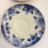 アシエット 小皿 デルフ 1990年代 ヴィンテージ ハンドペイント