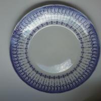 19世紀半ば クレイユ・エ・モントロー ルブーフ・ミリィエ ロカイユ ディナー・プレート 平皿 2