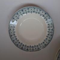 19世紀 バドンヴィレー オリエンタル サラディエ 深大皿