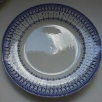 19世紀半ば クレイユ・エ・モントロー ルブーフ・ミリィエ ロカイユ 大皿  Lサイズ 1−2
