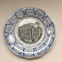 1889年 クレイユ・エ・モントロー おしゃべりなお皿 パリ世界万博 1−3