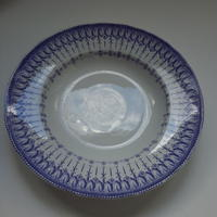 19世紀半ば クレイユ・エ・モントロー ルブーフ・ミリィエ  ロカイユ スープ・プレート 深皿 1点 送料別