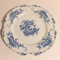 19世紀 1875年 ジアン グラン・デポ  ディナー・プレート レリーフ 1
