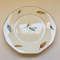 1950年代 サルグミンヌ ネムール ディナー・プレート 枯れ葉柄 1−10