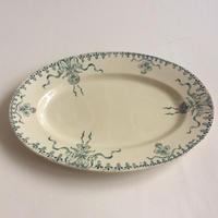 19世紀後半 ジアン プラ プレート 大皿 ヴニーズ