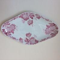 19世紀 サンタマン ハマージュ ラヴィエ オードブルプレート ブール・ド・ネージュ 紫陽花モチーフ