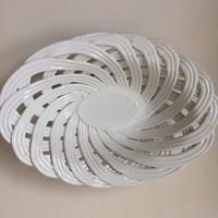 1930年代 コルベイユ 陶器 パンかご 白 1