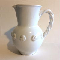 1950年代 マリコルヌ エミール・テシエ ピシェ 水差し 陶器 白