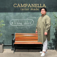 たろlong shirt(タロ ロング シャツ)カーキ TLS-004