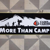"角""MORE THAN CAMP""ステッカー"