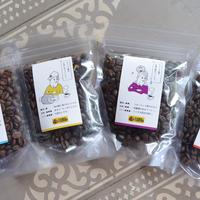 キャンプ場のオリジナルコーヒー豆セット
