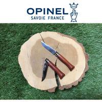 【訳あり】OPINELオピネル ステンレスローズ柄フォールディングナイフ#6