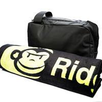 RidgeMonkey LX Bath Towel and Weatherproof Shower Caddy
