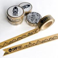 Ta03|線画テント マスキングテープ