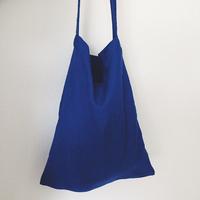 [BLUE LINEN TOTE-BAG] リネントートバッグ