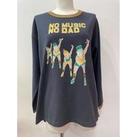LIME.NO DADリンガーTシャツ(スミクロ).P1002