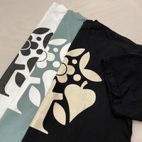 CANOLA SKATESHOP LOGO S/S TEE  WHITE&GREEN&BLACK