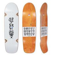 POLAR SKATE CO. SHIN SANBONGI FACES WHITE DECK SURF JR. SHAPE