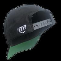 COMA BRAND BACK LOGO CAP BLACK