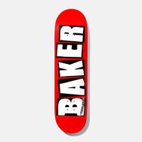 BAKER BRAND LOGO  WHITE DECK
