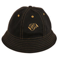 PASS~PORT PASS~PORT BANNER BUCKET HAT STEEL BLACK