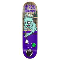 HEROIN LEE YANKOU EIGHTBALL DECK 8.25