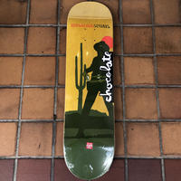 CHOCOLATE VINCENT ALVAREZ COWBOY DECK 8.25