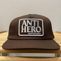 ANTIHERO RESERVE CAP BROWN