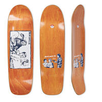 POLAR SKATE CO. PAUL GRUND GOLD STREAK DECK SURF SR. SHAPE
