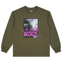 BRONZE 56K PSALMS 56K LS TEE MILITARY GREEN