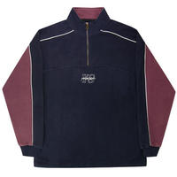 YARDSALE PIPELINE QUARTER ZIP NAVY