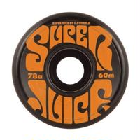 OJ WHEELS  SUPER JUICE  BLACK  60MM 78A