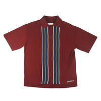 YARDSALE CASINO SHIRT BURGUNDY