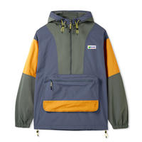 BUTTER GOODS EQUIPMENT PULLOVER JACKET STONE
