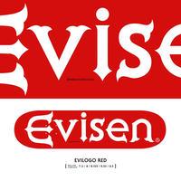 EVISEN EVI LOGO RED DECK 8.0